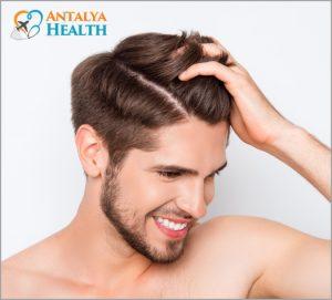 man hair transplantation